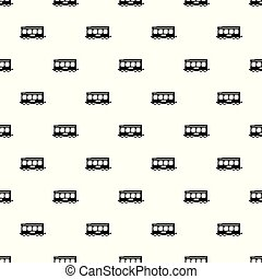 Fast train pattern vector seamless
