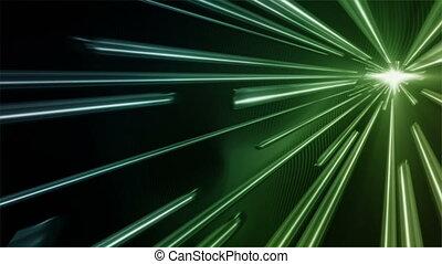 Fast Vortex Blue Green - Fast vortex of abstract bar shapes...