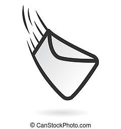 fasta, ikon, posta
