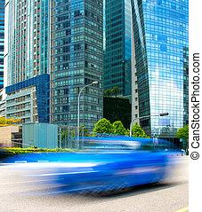 faste, kørende, singapore