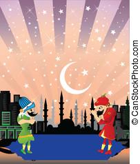 fasten, ramadan, entertainmen, nacht