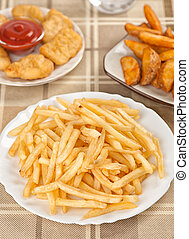 Fastfood. French fries