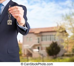 fastighetsmäklare, ge sig, hus facit