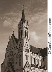 Fastovskiy roman catholic church.