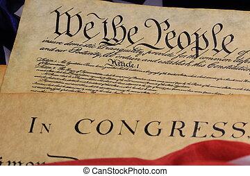 fastslår, foren, forfatning