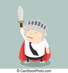 Fat Businessman sword