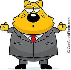 Fat Cat Confused