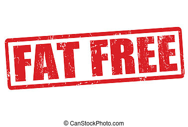 Fat free stamp