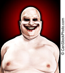 Fat Horrible Clown - Very fat and horrible psychopathic...