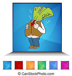 tax refund button illustrations and stock art 115 tax refund button rh canstockphoto com
