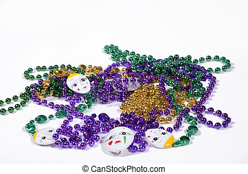 Fat Tuesday and Mard - Mardi Gras Throws