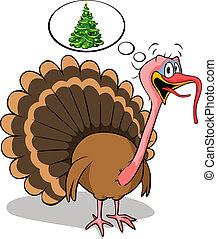 fat turkey do not like christmas
