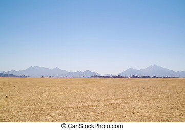 fata morgana, in, wüste