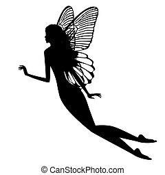 fata, silhouette