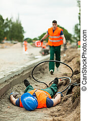 Fatal injury in the workplace - Picture of fatal injury in ...
