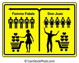 fatale, huan, don, kobieta