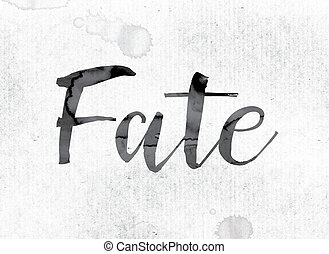 Fate Concept Painted in Ink