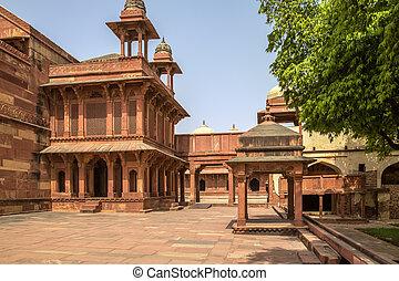 fatehpur, sikri, fort