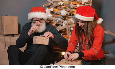 Father and Daughter Pack Gifts - Joyful father and daughter...