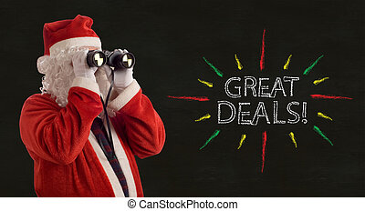 Father Christmas Great Deals Promotion - Father Christmas...