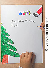 father christmas letter