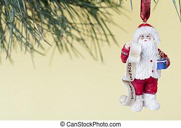 father santa christmas bauble