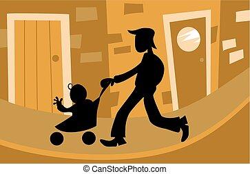 Fatherhood - fatherhood silouette