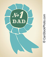 Father's Day Card - A greeting card template for father's ...