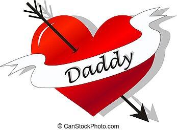 fathers day celebration tattoo