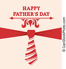 Fathers day design over beige background, vector ...