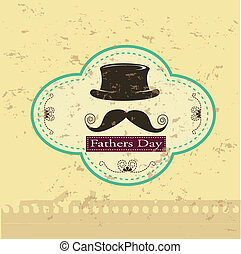 fathers day vintage - fathers day over vintage background...