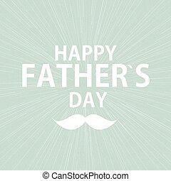 father`s, manifesto, illustrazione, vettore, fondo, giorno, scheda, felice