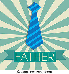 Father's tie