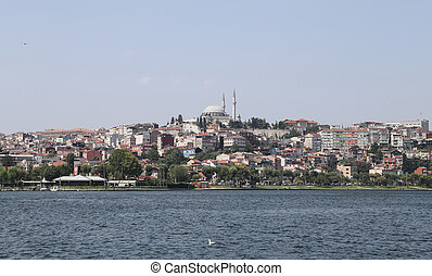 Fatih district in Istanbul City in Turkey