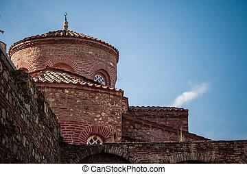 Fatih Mosque, Saint Stephanos Church at Trilye, Turkey