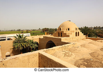 Fatih Mosque Thebes Egypt - the Fatih Mosque in Thebes,...