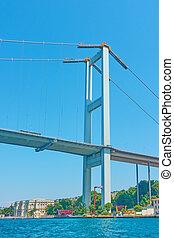 Fatih Sultan Mehmet Bridge in Istanbul - Fatih Sultan Mehmet...