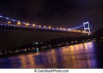 Fatih Sultan Mehmet Bridge, Istanbul, Turkey