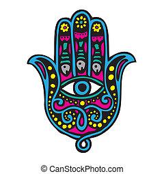 fatima, hand