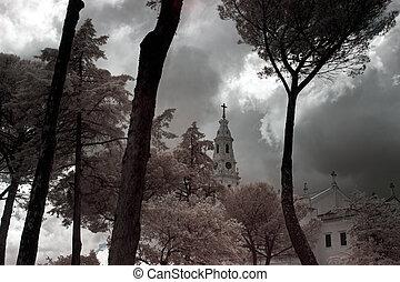 fatima, iglesia