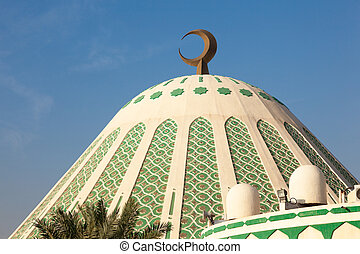 Fatima Mosque in Kuwait City, Middle East