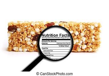 fatos, nutrição