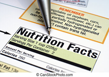 fatti, nutrizione