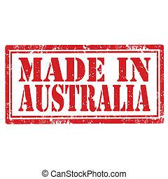 fatto, australia-stamp