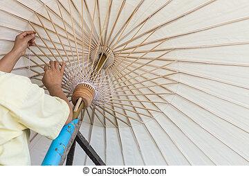 fatto mano, ombrello