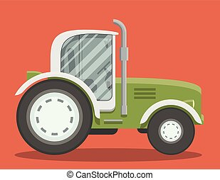 fattoria, appartamento, tracktor