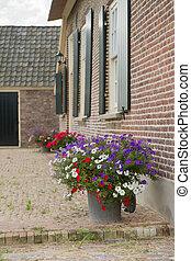 fattoria, dettaglio, olandese