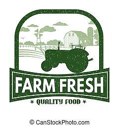 fattoria fresca, francobollo