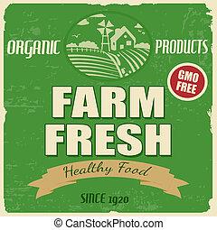 fattoria fresca, manifesto