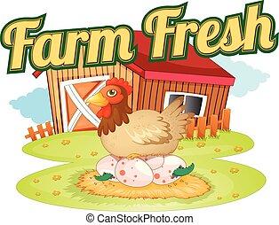 fattoria fresca, sagoma